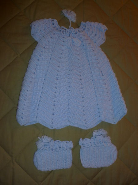 Baby set in blue