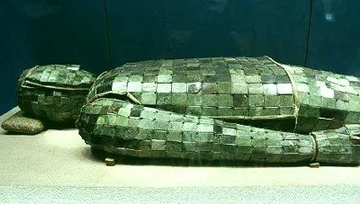 Wealthy ancient Chinese people used jade burial suits (https://www.quora.com/What-is-the-significance-of-jade-in-Chinese-culture)